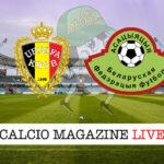 Belgio - Bielorussia cronaca diretta live risultato in tempo reale
