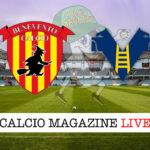 Benevento Hellas Verona cronaca diretta live risultato in tempo reale