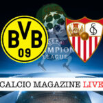 Borussia Dortmund Siviglia cronaca diretta risultato in tempo reale