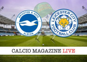 Brighton Leicester cronaca diretta risultato in tempo reale