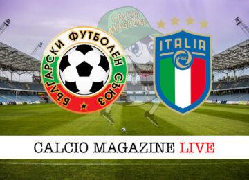 Bulgaria - Italia cronaca diretta live risultato in tempo reale