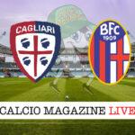 Cagliari Bologna cronaca diretta risultato in tempo reale