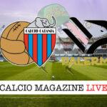 Catania Palermo cronaca diretta live risultato in tempo reale