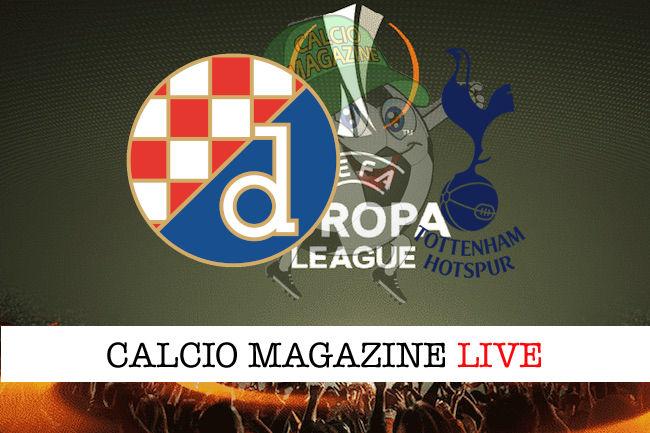 Dinamo Zagabria - Tottenham cronaca diretta live risultato in tempo reale