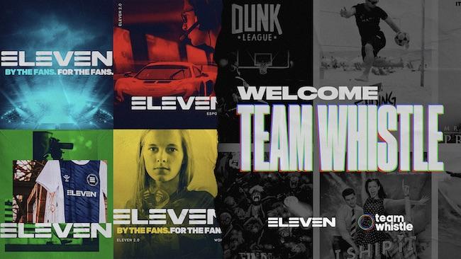 eleven sport team whistle