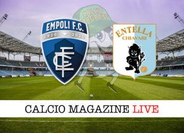 Empoli – Virtus Entella cronaca diretta live risultato in tempo reale