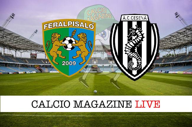 FeralpiSalò - Cesena cronaca diretta live risultato in tempo reale