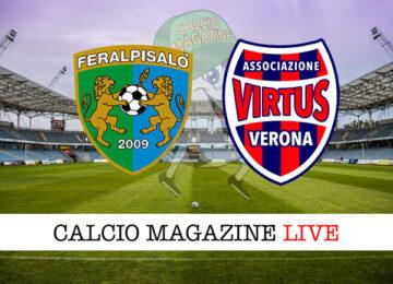 FeralpiSalò Virtus Verona cronaca diretta risultato in tempo reale