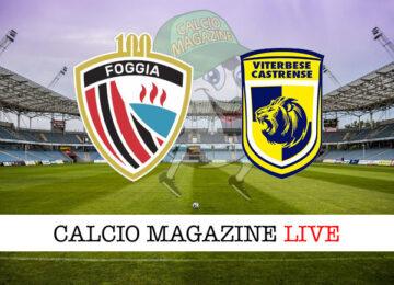 Foggia - Viterbese cronaca diretta live risultato in tempo reale