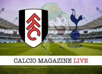 Fulham Tottenham cronaca diretta risultato in tempo reale