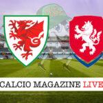 Galles - Repubblica Ceca cronaca diretta live risultato in tempo reale