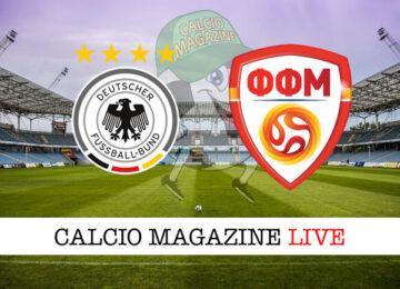 Germania - Macedonia del Nord cronaca diretta live risultato in tempo reale