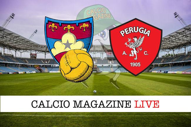 Gubbio - Perugia cronaca diretta live risultato in tempo reale