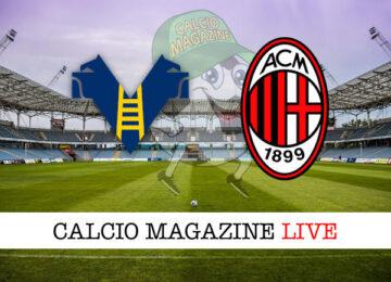 Hellas Verona Milan cronaca diretta risultato in tempo reale