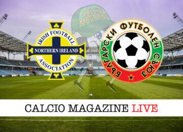 Irlanda del Nord - Bulgaria cronaca diretta live risultato in tempo reale