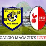 Juve Stabia Bari cronaca diretta risultato in tempo reale
