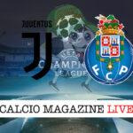 Juventus Porto cronaca diretta risultato in tempo reale
