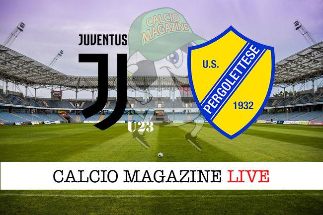 Juventus U23 - Pergolettese cronaca diretta live risultato in tempo reale