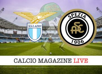 Lazio Spezia cronaca diretta live risultato in tempo reale