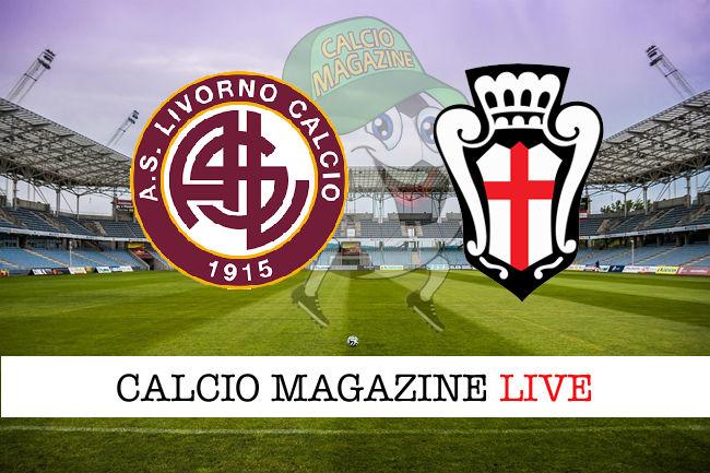 Livorno - Pro Vercelli cronaca diretta live risultato in tempo reale