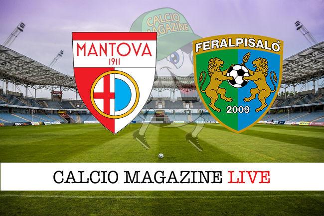 Mantova - FeralpiSalò cronaca diretta live risultato in tempo reale