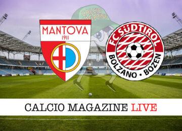 Mantova Sudtirol cronaca diretta risultato in tempo reale