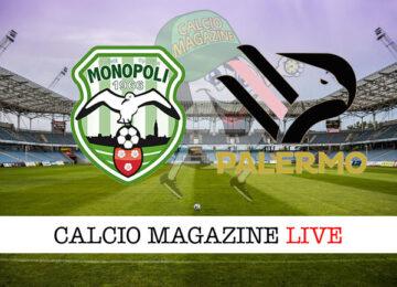 Monopoli - Palermo cronaca diretta live risultato in tempo reale