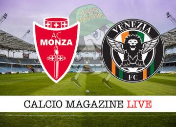 Monza - Venezia cronaca diretta live risultato in tempo reale