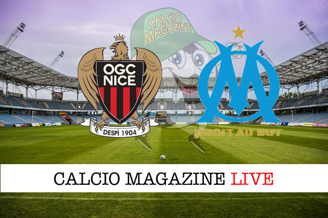 Nizza - Olympique Marsiglia cronaca diretta live risultato in tempo reale