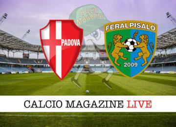 Padova - FeralpiSalò cronaca diretta live risultato in tempo reale