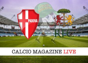 Padova Ravenna cronaca diretta live risultato in tempo reale