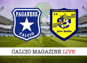 Paganese - Juve Stabia cronaca diretta live risultato in tempo reale