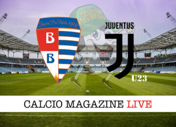 Pro Patria - Juventus U23 cronaca diretta live risultato in tempo reale