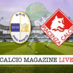 Pro Sesto - Piacenza cronaca diretta live risultato in tempo reale