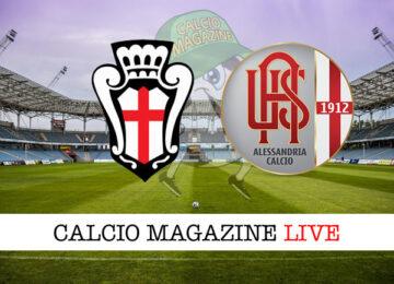 Pro Vercelli - Alessandria cronaca diretta live risultato in tempo reale