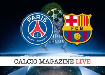 PSG Barcellona cronaca diretta risultato in tempo reale