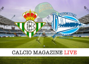 Real Betis Deportivo Alaves cronaca diretta risultato in tempo reale