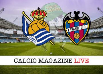 Real Sociedad Levante cronaca diretta risultato in tempo reale