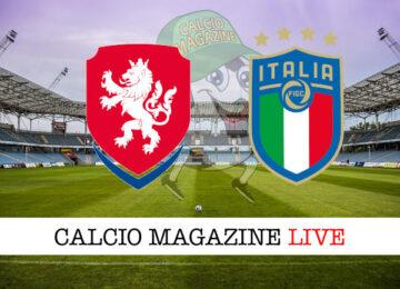 Repubblica Ceca - Italia cronaca diretta live risultato in tempo reale