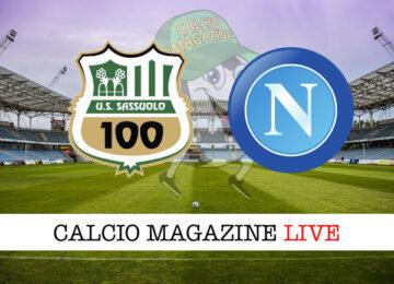 Sassuolo Napoli cronaca diretta live risultato in tempo reale