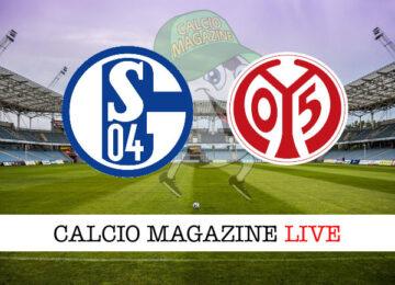 Schalke 04 Mainz cronaca diretta risultato in tempo reale
