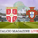 Serbia Portogallo cronaca diretta live risultato in tempo reale