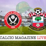 Sheffield United Southampton cronaca diretta risultato in tempo reale