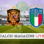 Spagna Italia cronaca diretta live risultato in tempo reale