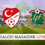 Turchia - Lettonia cronaca diretta live risultato in tempo reale