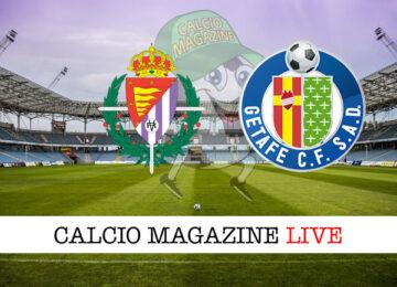 Valladolid Getafe cronaca diretta risultato in tempo reale