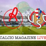 Vicenza Cremonese cronaca diretta live risultato in tempo reale