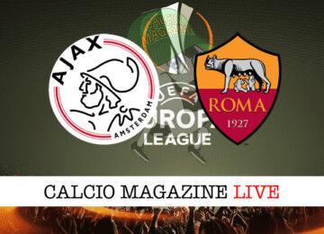 Ajax Roma cronaca diretta live risultato in tempo reale