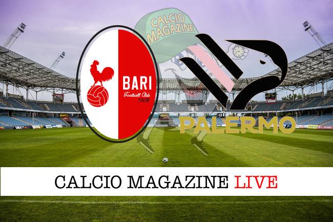 Bari Palermo cronaca diretta live risultato in tempo reale