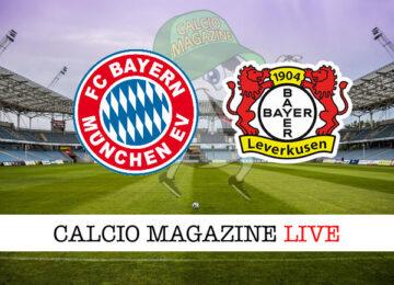 Bayern Monaco - Bayer Leverkusen cronaca diretta live risultato in tempo reale